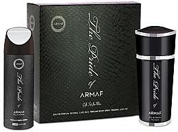 Voňavky, Parfémy, kozmetika Armaf The Pride Pour Homme - Sada (edp/100ml+deo/spray/200ml)
