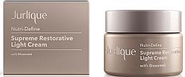 Voňavky, Parfémy, kozmetika Ľahký obnovujúci pleťový krém proti starnutiu - Jurlique Nutri-Define Supreme Restorative Light Cream