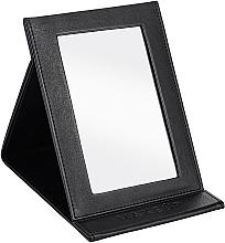Voňavky, Parfémy, kozmetika Kozmetické skladacie zrkadlo, čierne - MakeUp Tabletop Cosmetic Mirror Black