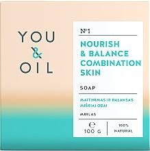 Voňavky, Parfémy, kozmetika Výživné mydlo pre kombinovanú pleť - You & Oil Nourish & Balance Combination Skin
