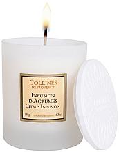 Voňavky, Parfémy, kozmetika Vonná sviečka Citrusový koktail - Collines De Provence Citrus Infusion Scented Candle