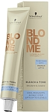 Voňavky, Parfémy, kozmetika Neutralizujúci toner na zosvetlenie - Schwarzkopf Professional BlondMe Bleach & Tone