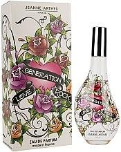 Voňavky, Parfémy, kozmetika Jeanne Arthes Love Generation Rock - Parfumovaná voda