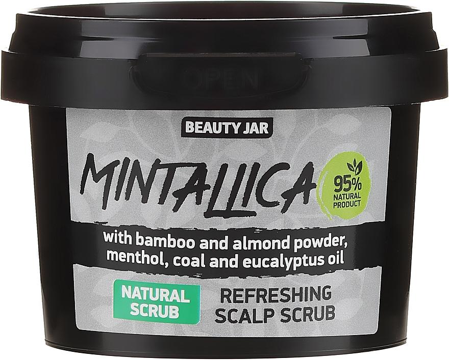 Osviežujúci scrub na pokožku hlavy - Beauty Jar Mintallica Refreshing Scalp Scrub