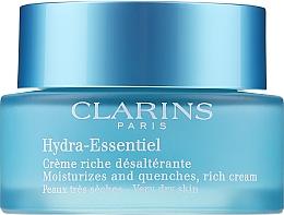 Voňavky, Parfémy, kozmetika Zvlhčovač pre suchú pokožku - Clarins Hydra-Essentiel Rich Cream