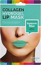 Voňavky, Parfémy, kozmetika Kolagénová hydrogélová maska na pery - Beauty Face Collagen Hydrogel Lip Mask Hyaluro Filler