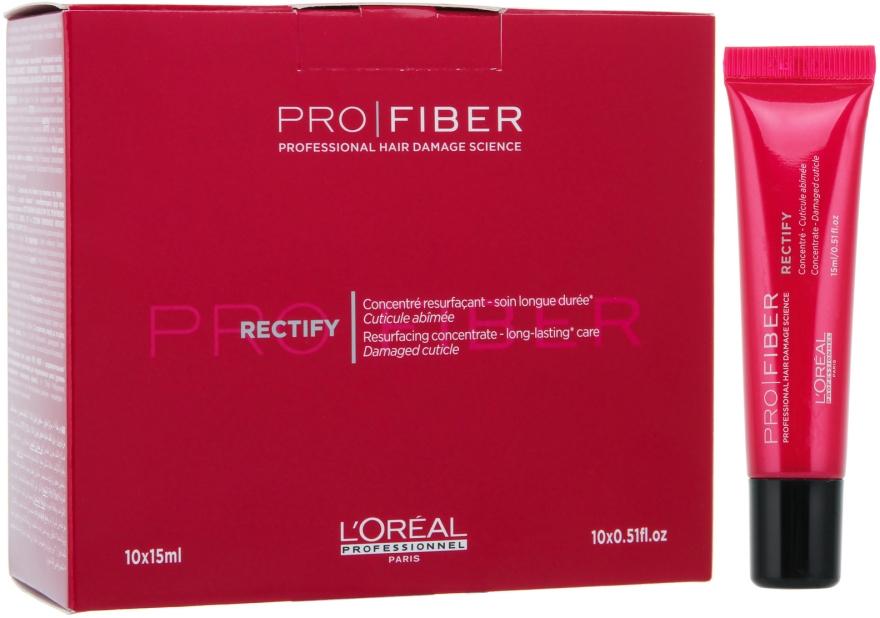 Revitalizačný koncentrát na vlasy - L'Oreal Professionnel Pro Fiber Rectify — Obrázky N1