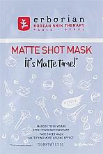 Voňavky, Parfémy, kozmetika Zmatňujúca textilná maska na tvár - Erborian Matte Shot Mask