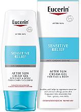 Voňavky, Parfémy, kozmetika Krémový gél po opaľovaní - Eucerin After Sun Creme-Gel for Sensitive Relief