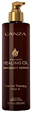 Voňavky, Parfémy, kozmetika Tepelná terapia (krok A) - L'anza Keratin Healing Oil Emergency Service Thermal Therapy Part A