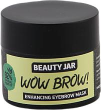 Voňavky, Parfémy, kozmetika Maska na rast obočí - Beauty Jar Wow Brow! Enhancing Eyebrow Mask