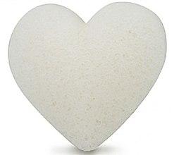 Voňavky, Parfémy, kozmetika Hubka na umývanie, srdce - Bebevisa Pure Konjac Sponge