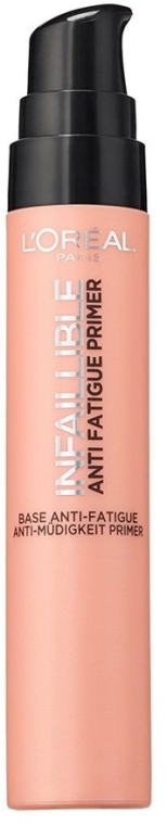 Primer pod make-up - L'Oreal Paris Infaillible Anti Fatigue Primer — Obrázky N1