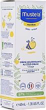 Voňavky, Parfémy, kozmetika Krém na tvár - Mustela Bebe Nourishing Cream with Cold Cream