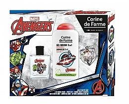 Voňavky, Parfémy, kozmetika Marvel The Avengers - Sada (edt/50ml + sh/gel/250ml)