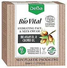 Voňavky, Parfémy, kozmetika Hydratačný krém na tvár a krk 35+ - DeBa Bio Vital Hydrating Face and Neck Cream