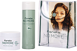 Voňavky, Parfémy, kozmetika Sada - Fanola No More Kit Travel Size (shm/100ml + mask/50ml + bag)