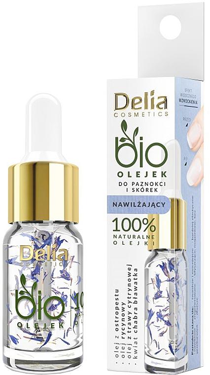 Hydratačný olej na nechty a nechtovú kožičku - Delia Cosmetics Bio Nail Oil