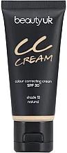 Voňavky, Parfémy, kozmetika CC krém na tvár SPF 30 - Beauty UK CC Cream SPF 30