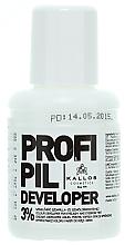 Voňavky, Parfémy, kozmetika Oxidačné činidlo pre farby 3% na obočie a mihalnice - Kallos Cosmetics Profi Pil Developer 3%