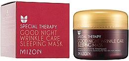 Voňavky, Parfémy, kozmetika Retinolová výživná nočná maska proti vráskam - Mizon Good Night Wrinkle Care Sleeping Mask