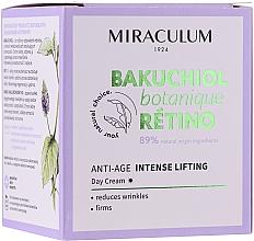 Voňavky, Parfémy, kozmetika Denný krém na tvár - Miraculum Bakuchiol Botanique Retino Anti-Age Intensive Lifting