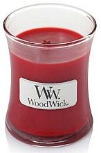 Voňavky, Parfémy, kozmetika Vonná sviečka v pohári - WoodWick Hourglass Candle Pomegranate