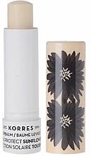 """Voňavky, Parfémy, kozmetika Balzam na pery """"Slnečnica"""" - Korres Lip Balm Sun Protect SPF20 Sunflower"""