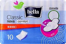 Voňavky, Parfémy, kozmetika Vložky Classic Nova Comfort Drainette, 10 ks - Bella