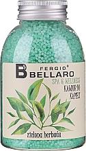 """Voňavky, Parfémy, kozmetika Zjemňujúce guľôčky do kúpeľa """"Zelený čaj"""" - Fergio Bellaro Green Tea Bath Caviar"""