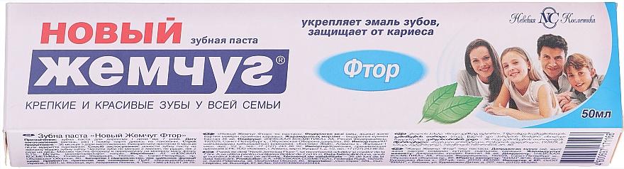 """Zubná pasta """"Fluorid"""" - Novyj žemčug"""
