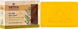 Voňavky, Parfémy, kozmetika Mydlo - Sattva Hand Made Soap Tea Tree