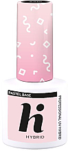 Voňavky, Parfémy, kozmetika Vrchný základný lak na nechty - Hi Hybrid Pastel Base