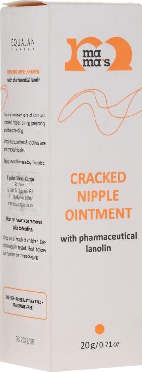 Masť na popraskané bradavky s lanolínom - Mama's Cracked Nipple Ointment With Pharmaceutical Grade Lanolin