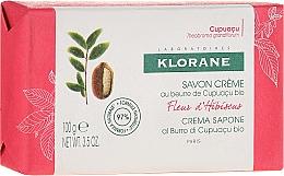 Voňavky, Parfémy, kozmetika Mydlo - Klorane Cupuacu Hibiscus Flower Cream Soap