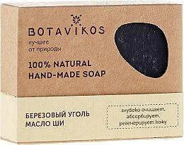 """Voňavky, Parfémy, kozmetika Prírodné mydlo ručne vyrábané """"Brezové uhlie a olej Shea"""" - Botavikos Hand-Made Soap"""