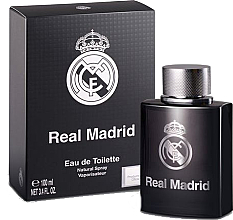 Voňavky, Parfémy, kozmetika Air-Val International Real Madrid Black - Toaletná voda