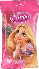 """Voňavky, Parfémy, kozmetika Vlhčené utierky """"Princezné"""", 15 ks, Rapunzel - Smile Ukraine Princess"""