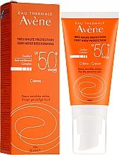 Voňavky, Parfémy, kozmetika Opaľovací krém pre tvár - Avene Eau Thermale Sun Cream SPF50