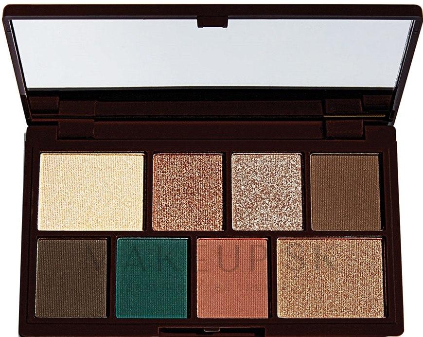 Paleta tieňov na viečka,8 odtieňov - I Heart Revolution Mini Eyeshadow Palette — Obrázky Choc Mint