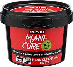 Voňavky, Parfémy, kozmetika Čistiaci olej na ruky - Beauty Jar Mani-Cure Hand Cleansing Butter