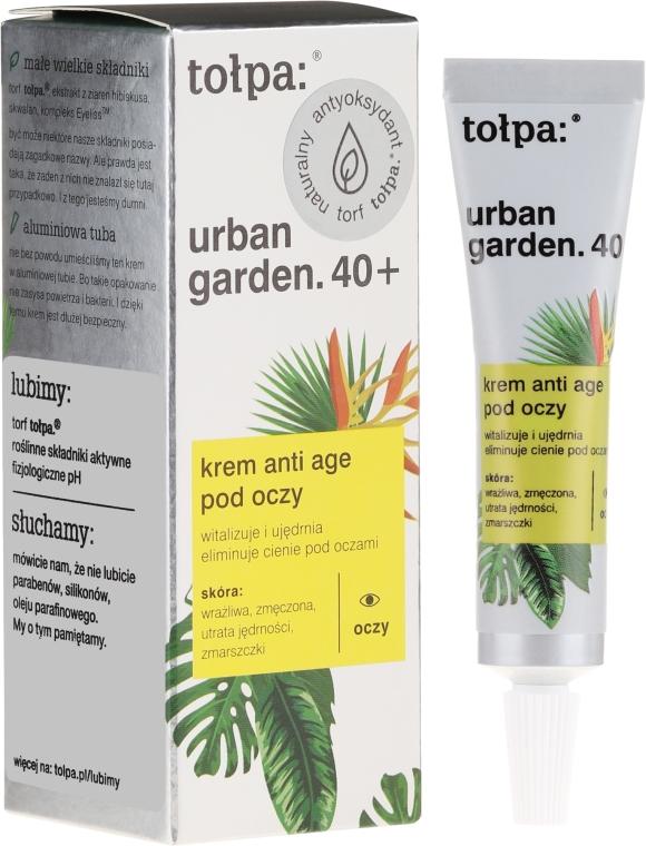 Krém pod oči - Tolpa Urban Garden 40+ Anti-Age Eye Cream — Obrázky N1