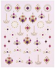 Voňavky, Parfémy, kozmetika Nálepky na nechtový dizajn - Peggy Sage Decorative Nail Stickers Luxury (1ks)