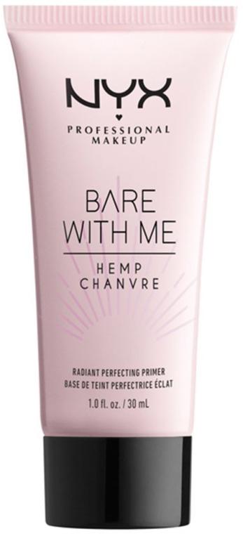 Primer na tvár - NYX Professional Makeup Bare With Me Hemp Radiant Perfecting Primer