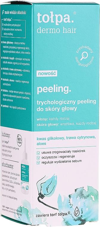 Trichologický scrub na pokožku hlavy - Tolpa Dermo Hair Peeling