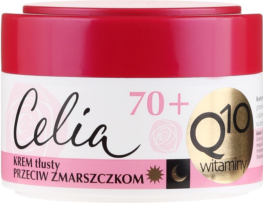 """Krém proti vráskam """"Vitamínový"""" - Celia Q10 Face Cream 70+"""