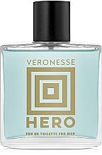 Voňavky, Parfémy, kozmetika Vittorio Bellucci Veronesse Hero - Toaletná voda