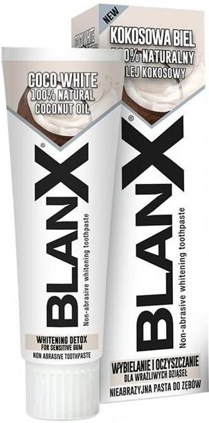 Neabrazívna bieliaca zubná pasta - Blanx Coco White Toothpaste