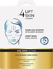 Voňavky, Parfémy, kozmetika Látková maska so slimákovým slizom - Lift4Skin Sheet Mask Snail Mucin