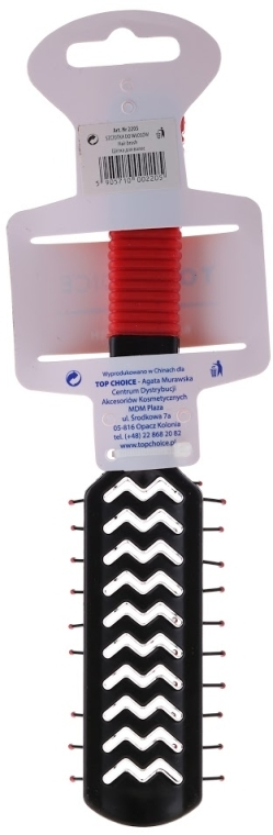 Kefa na vlasy, červeno-čierna, 2205 - Top Choice — Obrázky N2